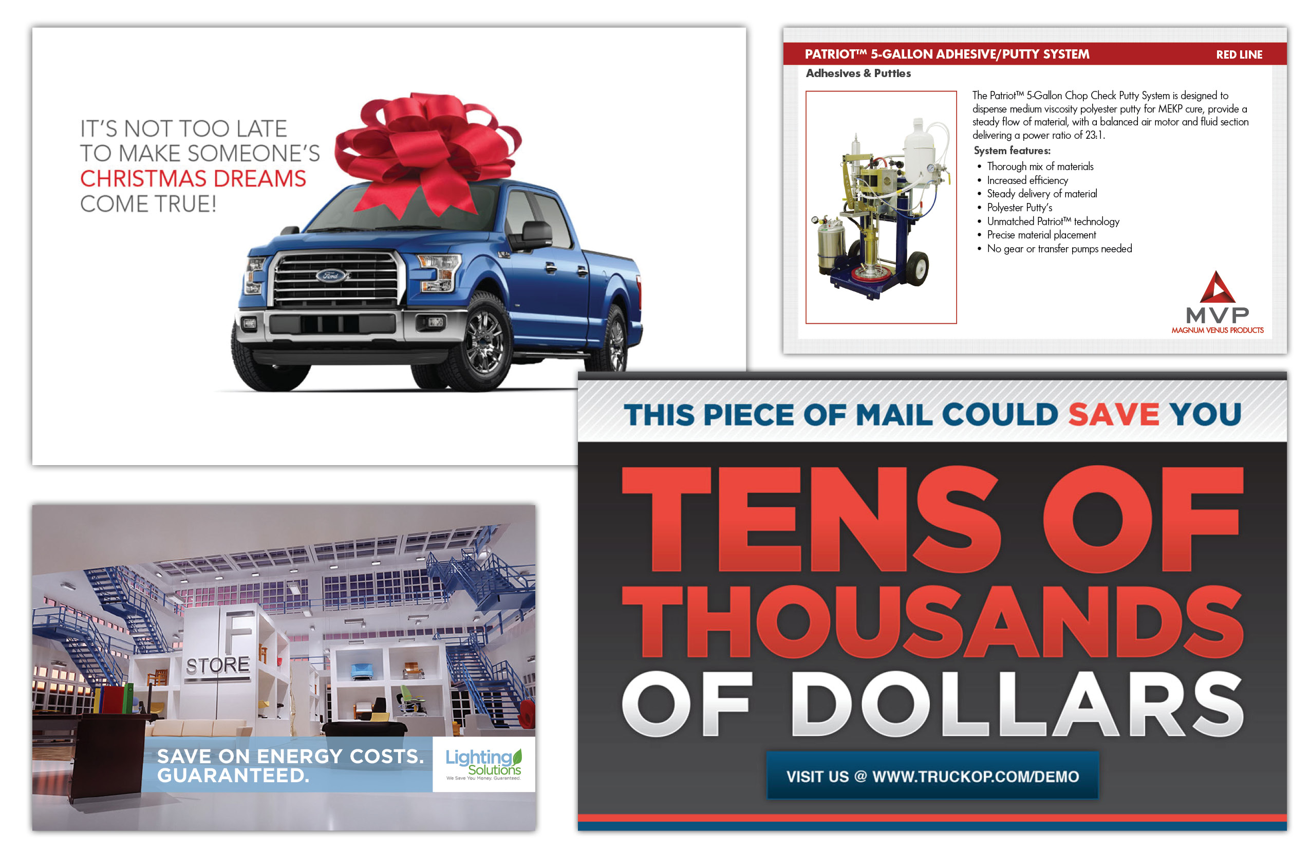 If you have clients that respond well to direct mail, we can develop the right message to elicit a great response.