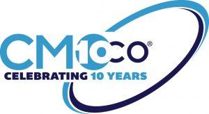 CMOco 10 Year Anniversary Logo